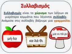 Greek Alphabet, Greek Language, Happy Kids, Second Grade, Phonics, Grammar, Back To School, Activities For Kids, Preschool