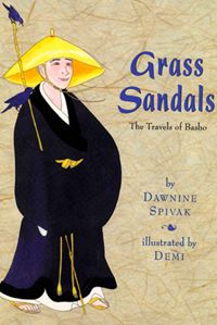 This post has a wealth of information and book recommendations about introducing kids to hiaku. Grass Sandals Basho Book- Kid World Citizen