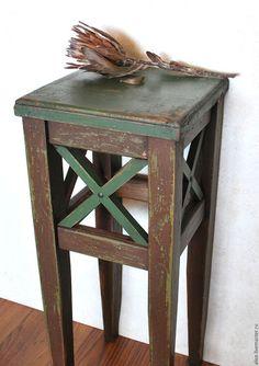 Мебель ручной работы. Ярмарка Мастеров - ручная работа. Купить ТОСКАНА жардиньерка. Handmade. Мебель, барный стул, воск