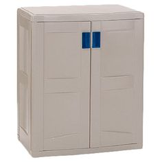 Found it at Wayfair - Utility Storage Base Cabinet in Taupe