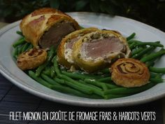 filet mignon croute fromage frais haricots Un si mignon filet!