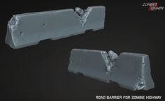 ArtStation - Road Barrier, Sam Juarez