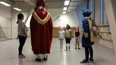 Sint en Piet op bezoek