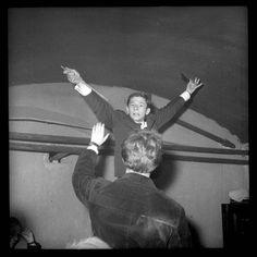 Roman Polański w klubie studenckim, 1959, Warszawa