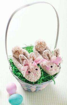March Hare Slippers ~ Crochet Today!, March/April 2013