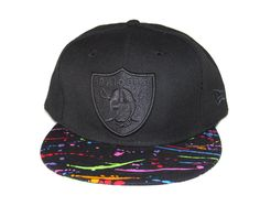 Oakland Raiders Black  Multicolor New Era Snapback b10705193a1