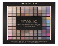 Makeup Revolution Ultimate Eye Shadow Collection 2017
