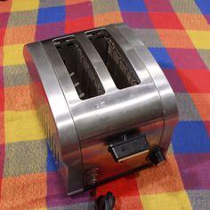 Haier Toaster 2 Slice Pop Up Stainless Steel Bagel Cancel Button TST850DS #Haier