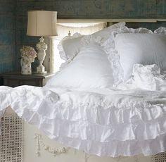 Petticoat Ruffles ..... Rachel Ashwell Shabby Chic Couture. The Prairie by Rachel Ashwell.