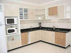 Simple Kitchen Design, Kitchen Room Design, Home Room Design, Home Decor Kitchen, Interior Design Kitchen, Kitchen Layout Plans, Kitchen Cupboard Designs, Kitchen Modular, Cuisines Design
