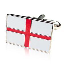 English Flag cufflinks Symbol Of England, St Georges Day, George Cross, Cross Symbol, St George's, The St, Designer, Cufflinks, Flag