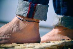 Bracelet de cheville d'ancrage pour hommes bracelet par Principles