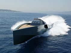 YACHT OF THE WEEK: The $33 Million WALLY 118 Is Darth Vader's Home On The Water