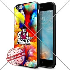 WADE CASE New Mexico State Aggies Logo NCAA Cool Apple iPhone6 6S Case #1367 Black Smartphone Case Cover Collector TPU Rubber [Colorful] WADE CASE http://www.amazon.com/dp/B017J7N814/ref=cm_sw_r_pi_dp_d6ktwb17C8MWP