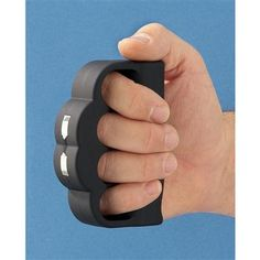 This is freaking cool. Brass knuckles but the catch is it is a taser as well! Sick with it. #DontEven