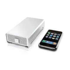 G-RAID mini is the top of external portable hard drives. It includes eSata, Firewire 800, 400  and USB 2.0. 500GB for only £39.09. The G-Technology G-RAID mini includes inside 2 hard drives of 250GB each one.
