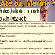 Até tu, Marina? ➤ http://blogs.oglobo.globo.com/lauro-jardim/post/em-delacao-leo-pinheiro-diz-que-campanha-de-marina-silva-teve-caixa-dois.html ②⓪①⑥ ⓪⑥ ①② #LavaJato