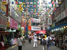 Namdaemun Market, Seoul. This is a REALLY BIG market square. I enjoyed spending time here during my Winter vacation in December 2011. My family and friends joined me from South Africa.