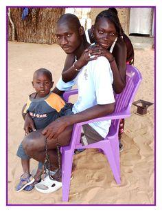 mon grand frère - Petit village, Saint-Louis-Senegal