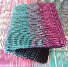 7e3c35a9e61 Hand woven Polar Lights- baby wrap. Hartiahuivi