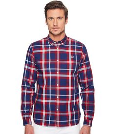 FRED PERRY Bold Check Shirt. #fredperry #cloth #shirts & tops