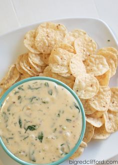 This is the best queso blanco dip. Inspired by a restaurant in AZ we love, and perfect as an appetizer to a mexican meal.