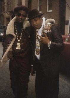 slick rick Fayne Noel Leisy Biz Rev Run Slick Rick hiphopstyle hip hop style Hip Hop Look, Style Hip Hop, Love N Hip Hop, Hip Hop And R&b, Run Dmc, 90s Hip Hop, Hip Hop Rap, Hip Hop Artists, Music Artists