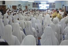 Missionaries of Charity in Kolkata celebrating the canonization event