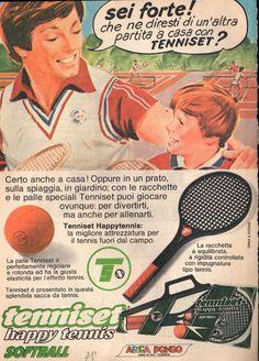 05 M 772 Pubblicita  Advertising - Tenniset happytennis - gioco Adica pongo