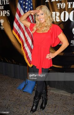 Torrie Wilson during Press Conference to Announce the Return of WWE to Iraq to Entertain the Troops for the Holidays - November 21, 2006 at Madison Square Garden in New York City, New York, United States.