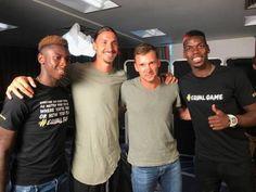 Equal game 🚀. Zlatan Ibrahimovic Kean Moise Andriy Shevchenko #equalgame