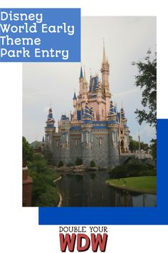 Get in to the parks 30 minutes early with Disney World Early Theme Park Entry. Here you'll find out how to qualify to get in to Disney World before park opening! Disney | Disney World | Walt Disney World | Disney planning | Disney World parks | Disney tips Disney World Tickets, Disney World Florida, Disney World Parks, Disney World Planning, Walt Disney World Vacations, Disney World Tips And Tricks, Disney Tips, Disney Disney, Disney Planner