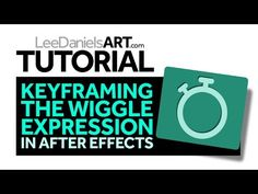 Tutorial | After Effects | Keyframing Wiggle Expression - YouTube