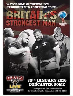 Eddie Hall wins Britain's Strongest Man for the third time