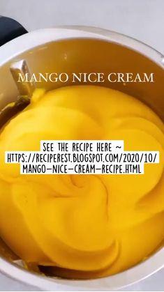 Cookie Dough Pops, Sweets Recipes, Desserts, Ice Cream Treats, Nice Cream, Mango, Frozen, Foods, Baking