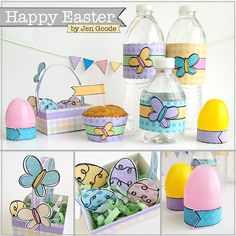 Happy Easter printables by Jen Goode