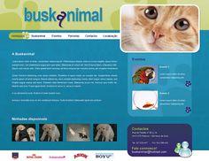 Webdesign. Homepage layout. www.rafaelamorgado.com