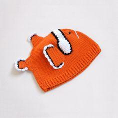 Fab.com   Clown Fish Hat Baby by H maude
