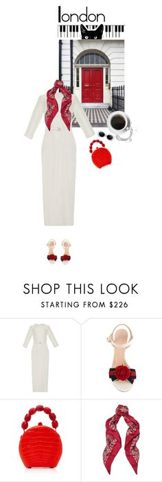 """""""L o n d o n  i n s p i r a t i o n"""" by www-som ❤ liked on Polyvore featuring Marei 1998, Gucci, Nancy Gonzalez and Yves Saint Laurent"""