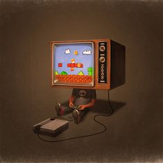 I've got video games on the brain.