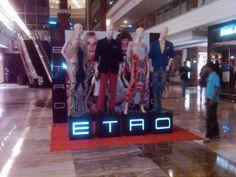 ETRO lobby display
