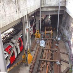 #tube #geeks this is where new #trains enter the network! #Waterloo Get the #Kooky #London #App #ig_London #igLondon #London_only #UK #England #English #GreatBritain #British #quirky #odd #weird #photoftheday #photography #picoftheday #igerslondon #LondonUnderground #lovelondon #timeoutlondon #instalondon #londonslovinit #mylondon #Padgram