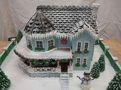 Gingerbread House 2009 #2 by Ultimate Gingerbread, via Flickr