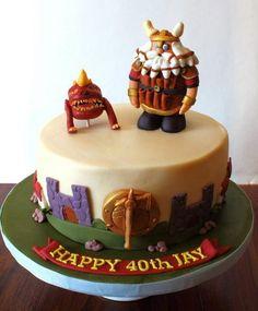 Warhammer K Wedding Cake Toppers