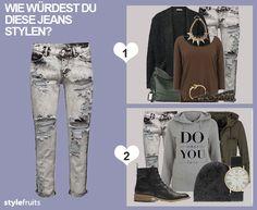 Wie würdest Du diese #Jeans stylen? Lass Dich inspirieren von tollen #Outfits oder erstelle Dir Deinen ganz eigenen #Look!