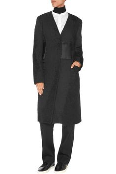 Shop on-sale Maison Margiela Paneled woven coat. Browse other discount designer Coats & more on The Most Fashionable Fashion Outlet, THE OUTNET.COM