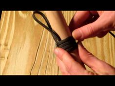 ▶ Paracord Handle Wrap - YouTube
