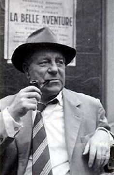 «Finished Simenon's (first) Maigret detective novel: somehow I know that I read this one and many others about the inspector from Paris a long time ago...» photo: Jean Gabin as Maigret