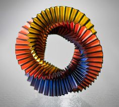 Origami mobius ring by Noud van den Boer