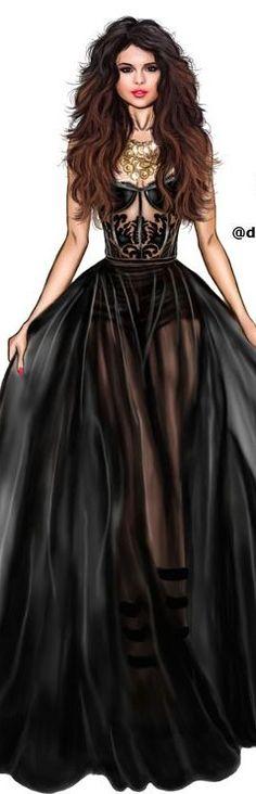 Selena Gomez by David Mandeiro